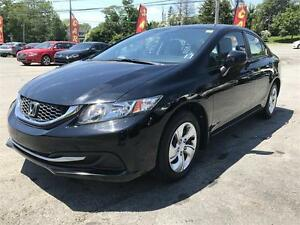 2013 Honda Civic LX, FACTORY WARR. HEATED SEATS, BLUETOOTH