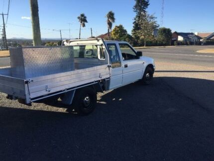 1997 Holden Rodeo R7 LX White Manual Utility