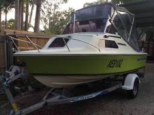 Haines Hunter V146C with 70hp Johnson 2 Stroke outboard, Stainles Cooroibah Noosa Area Preview
