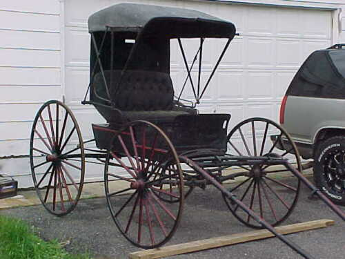 Antique Horse-Drawn DOCTOR