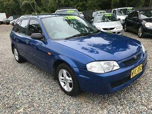 2000 Mazda 323 BJ Astina Blue Manual Hatchback Jewells Lake Macquarie Area Preview