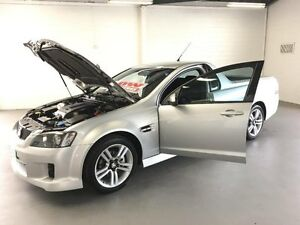 2009 Holden Commodore VE MY09.5 SV6 Silver 5 Speed Automatic Utility Frankston Frankston Area Preview