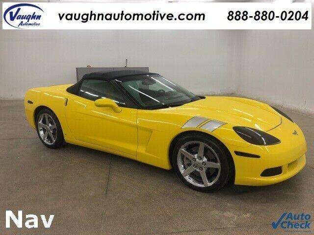 2008 Yellow Chevrolet Corvette     C6 Corvette Photo 1