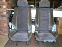 Mark 2 Astra GTE Front Seats