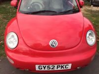 VW BEETLE IN SUPER CONDITION WELL CARED FOR DRIVES VERY NICE NO FAULTS