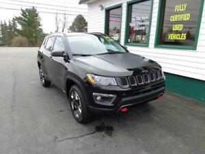 2018 Jeep Compass Trailhawk 4x4 for only $236 bi-weekly all in!