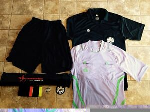 Soccer referee uniform