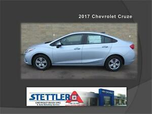 ALL NEW 2017 Chevrolet Cruze LS