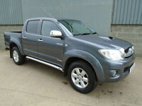 Toyota Hilux 3.0 Invincible double cab pick up 2011 11 reg