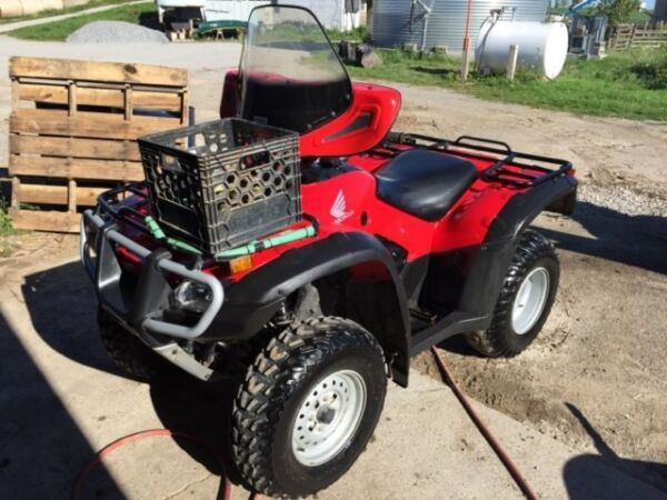 Used 2011 Honda Trx 500 Forman S