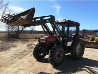 1996 Case 4230 4WD Farm Tractor With Loader