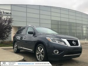 2014 Nissan Pathfinder PLATINUM/4 WHEEL DRIVE/HEATED AND COOLED