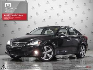 2011 Lexus IS 350 Luxury with navigation package All-wheel Drive