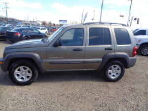 2003 JEEP LIBERTY-4X4-ONE OWNER DRIVE AMAZING