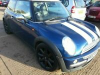 MINI COOPER 1.6 53 REG PART LEATHER ALLOYS
