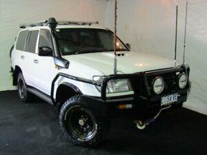 2004 Toyota Landcruiser HZJ105R Standard White 5 Speed Manual Wagon Derwent Park Glenorchy Area Preview