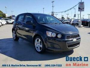 2014 Chevrolet Sonic LT (Just under 55,000 kms)