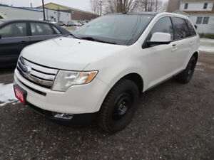 2010 FORD EDGE SEL FWD, PANORAMIC SUNROOF, LEATHER, REMOTE START