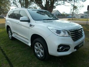2018 Haval H9 MY18 Lux White 8 Speed Automatic Wagon Kempsey Kempsey Area Preview