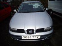 2005(55reg) Seat Leon 1.6 Petrol MOT'd June £895