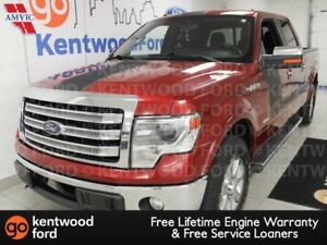 2013 Ford F-150 Lariat 4x4 with it all. NAV, sunroof, power leat