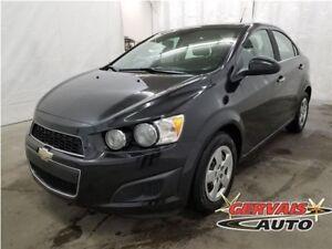 Chevrolet Sonic LT A/C Automatique 2013