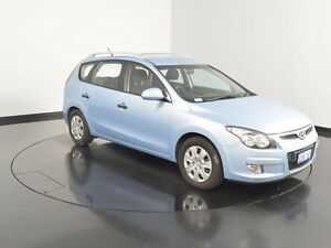 2012 Hyundai i30 FD MY11 SX cw Wagon Clean Blue 6 Speed Manual Wagon Welshpool Canning Area Preview