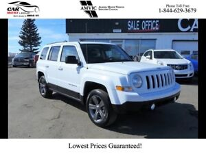 2015 Jeep Patriot 4WD   HIGH ALTITUDE   LEATHER   SUNROOF