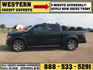 2011 Ford F-150 FX4 4X4 5.0L Tow Package Sunroof ~ $202 B/W