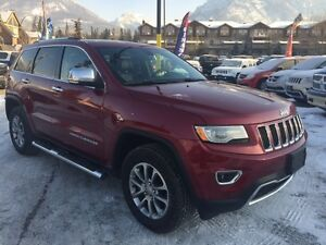 2015 Jeep Grand Cherokee Limited Panoramic Sunroof Leather Navig