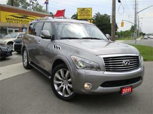 2011 INFINITI QX56,NAVIGATION,DVD SYSTEM,NO ACCIDENT,LOCAL