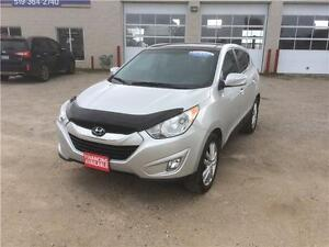 2013 Hyundai Tucson Limited Certified $18,995