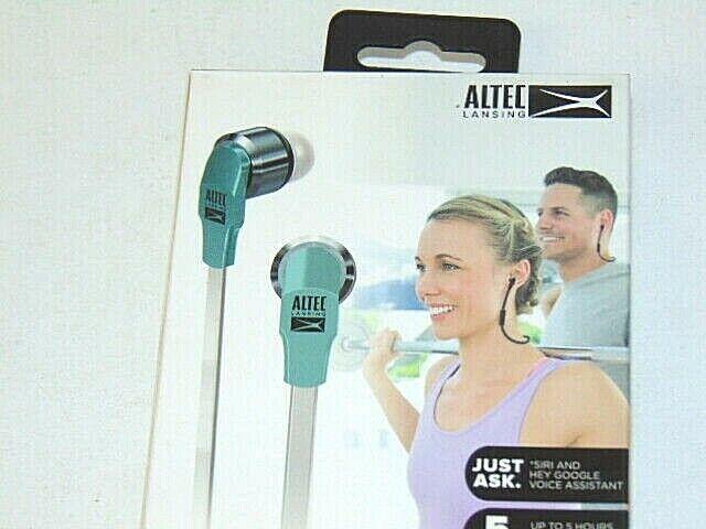 Altec Lansing MZX120 Sport In-Ear Bluetooth Earphones-Green-