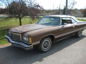 1974 Chevy Caprice Classic Convertible