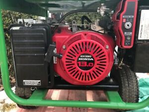 John Deere Generator with 13 HP Honda Engine - 6000W!