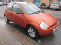 ford ka 2005 05,reg with only 20,000 miles long mot 1.3 petrol £895 very good condition/runner
