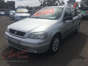 2004 Holden Astra TS CD Silver 4 Speed Automatic Sedan Lansvale Liverpool Area Preview