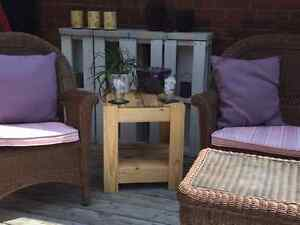 Pallet Side Tables London Ontario image 1