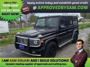 BENZ G55 AMG WAGON - HIGH RISK LOANS - APPROVEDBYSAM.COM