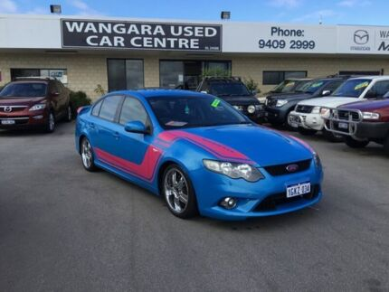 2009 Ford Falcon FG XR6 Blue 5 Speed Auto Seq Sportshift Sedan Wangara Wanneroo Area Preview
