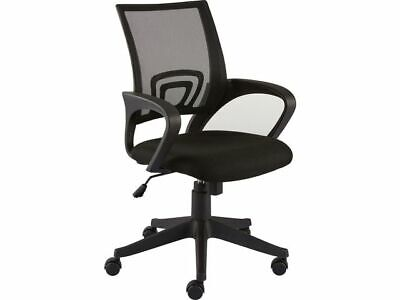 Staples Felucca Office Task Chair - Black Mesh and Woven Fabric - Free P&P!