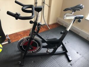 """Spin bike, a real """"work horse"""" in great condition - $300 OBO"""