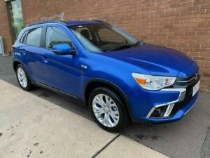 2019 Mitsubishi ASX XC MY19 ES (2WD) Blue Continuous Variable Wagon Phillip Woden Valley Preview