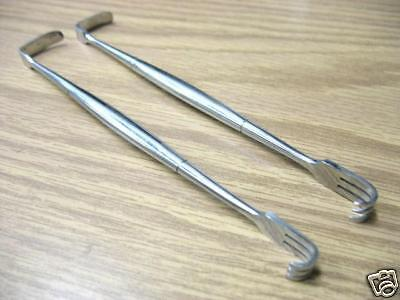 2 Senn Muller Retractor Sharp 6.25 Sharp Surgical