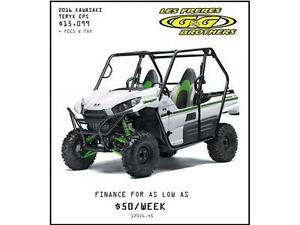 0% FINANCING AND 3 YEAR WARRANTY ON 2016 TERYX MODELS