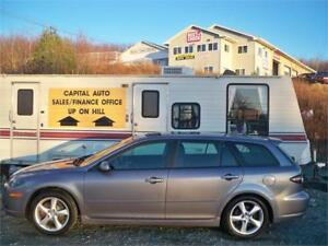 LOW MILEAGE! 07 MAZDA 6 WAGON! NEW MVI! , NO RUST! GREAT LOOKING