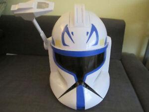Star Wars Captain Rex Clone Trooper helmets