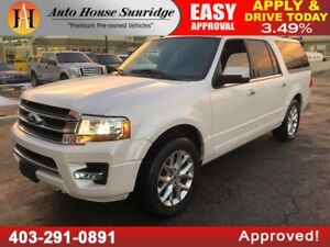 2016 FORD EXPEDITION MAX LIMITED ECO BOOST NAVICAGTION BCKUP CAM