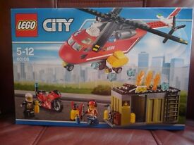 LEGO CITY SET 60108 FIRE RESPONSE UNIT BRAND NEW IN FACTORY SEALED BOX