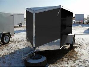 5x8 Flat Top Cargo Trailer Regina Regina Area image 1